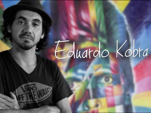 EDUARDO KOBRA | perfil do grafiteiro