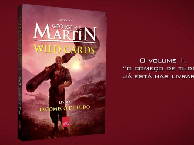 WILD CARDS de George R. R. Martin | booktrailer